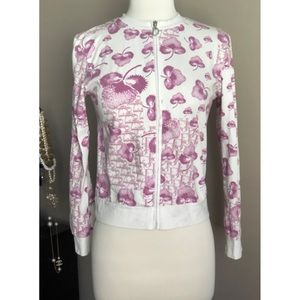 ✨Authentic Vintage Y2K Christian Dior Cherry Blossom Diorissimo Pink Jacket